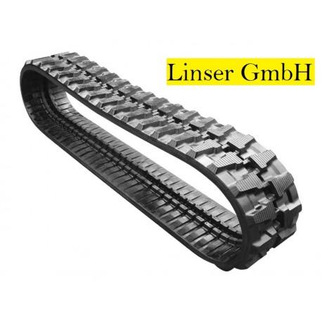 Резиновая гусеница для экскаватора Linser 400x72,5x74W