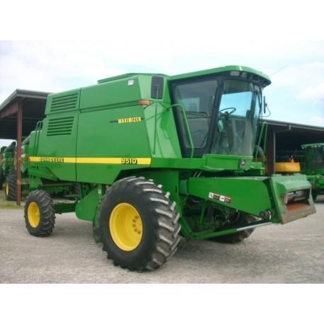 Комбайн зерноуборочный бу John Deere 9510 1998г