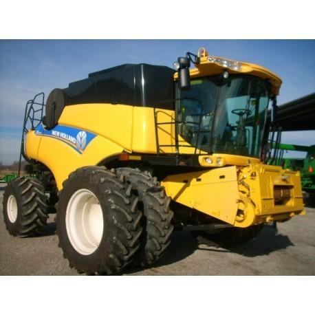 Зерноуборочный комбайн бу New Holland CR6090 2012г