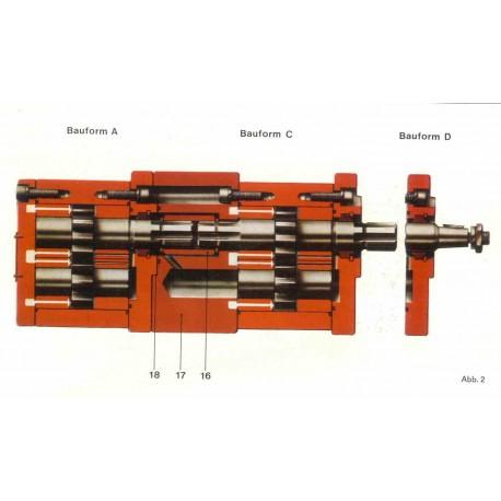 Насос Orsta C100-3/C25-2/A1,6L
