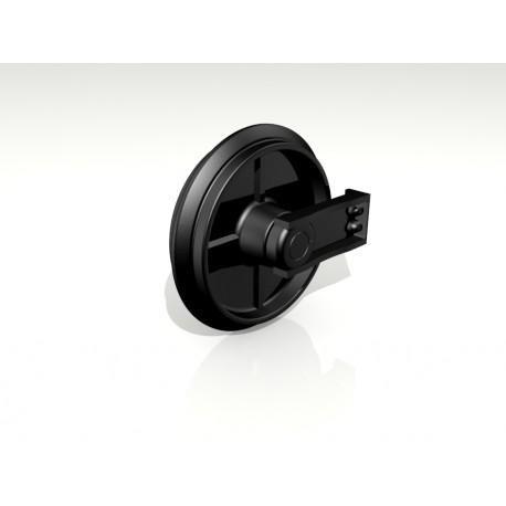 Натяжное колесо гусеницы JCB 8020, JCB 8030, JCB 8040